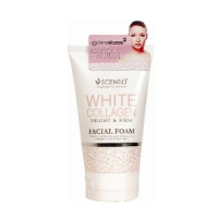 Beauty Buffet 胶原蛋白洗面奶(白色)Scentio洁面乳White Collagen Mild Facial Foam